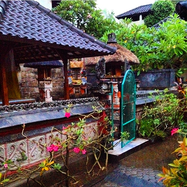 homestay in the rain