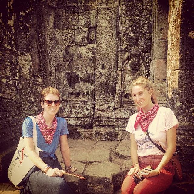 two ladies bayon